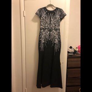Adrianna Papell black dress, size 2